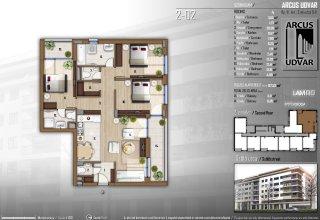 Szőlő utca 2-02 lakás